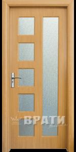 Интериорна HDF врата, модел 048 Светъл дъб