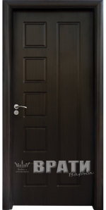 Интериорна HDF врата, модел 048-P Венге