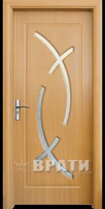 Интериорна HDF врата, модел 056 Светъл дъб