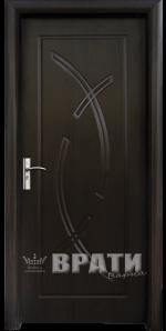 Интериорна HDF врата, модел 056-P Венге