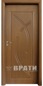 Интериорна HDF врата, модел 056-P Златен дъб
