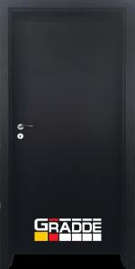 Интериорна HDF врата, модел Gradde Simpel, Орех Рибейра