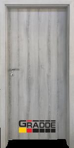 Интериорна HDF врата, модел Gradde Simpel, Ясен Вералинга