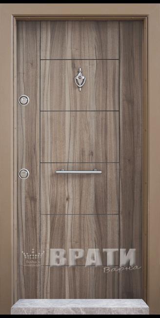 Блиндирана входна врата, модел Т102 Спарта