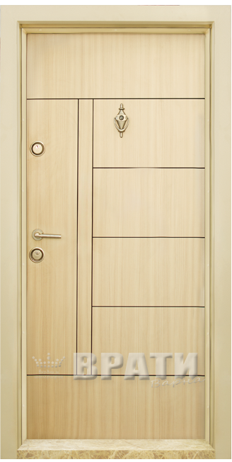 Блиндирана входна врата, модел Т587 Зебра