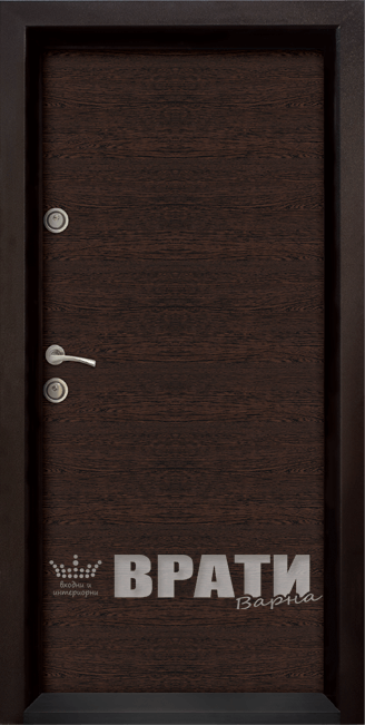 Блиндирана входна врата, модел Ale Door 403 Wenge
