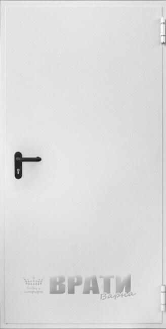 Еднокрила пожароустойчива врата 60