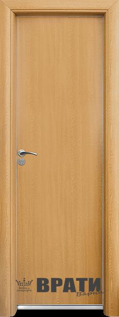 Алуминиева врата за баня – STANDART цвят Светъл Дъб