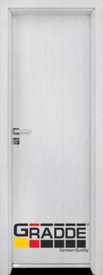 Алуминиева врата за баня – GRADDE цвят Сибирска Лиственица