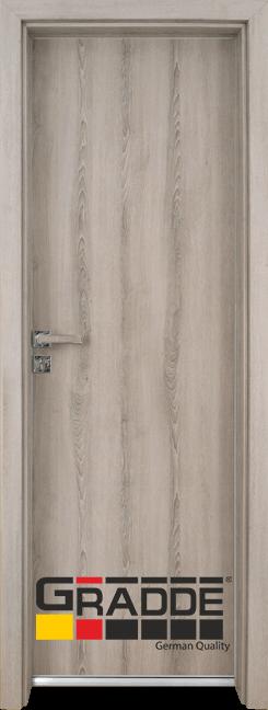 Алуминиева врата за баня – GRADDE цвят Ясен Вералинга