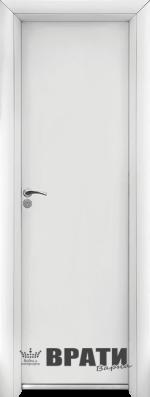 Алуминиева врата за баня – STANDART цвят Бял