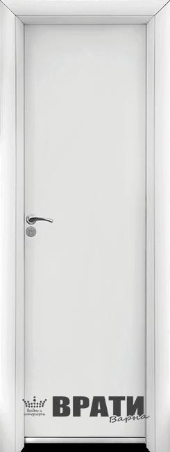 Алуминиеви врата Стандарт Бяла